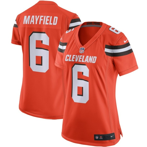 best sneakers 15797 d7452 Women's Cleveland Browns Baker Mayfield Jersey NWT